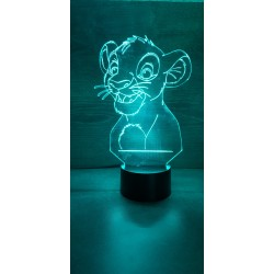 Veilleuse LED Roi lion