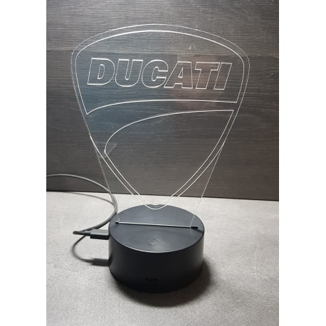 veilleuse logo DUCATI