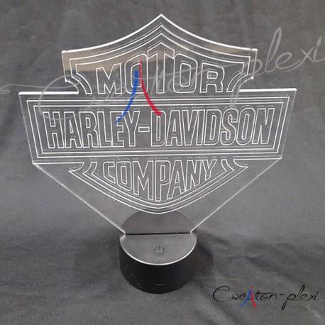 veilleuse logo HARLEY DAVIDSON
