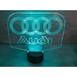 veilleuse logo Audi