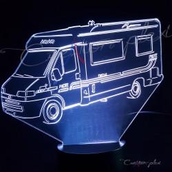 Veilleuse LED camping car petit modèle