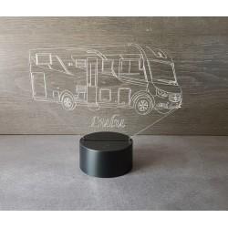 Veilleuse LED camping car grand modèle