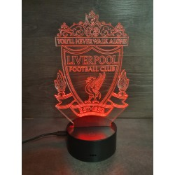 Veilleuse LED football Liverpool
