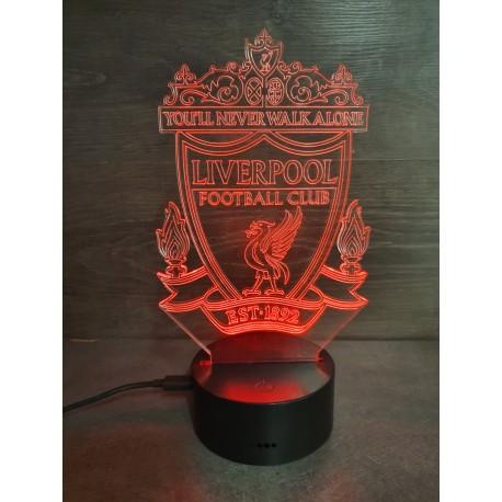 Veilleuse LED football Liverpool
