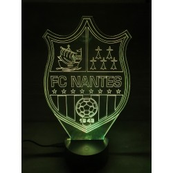 Veilleuse LED football FC Nantes