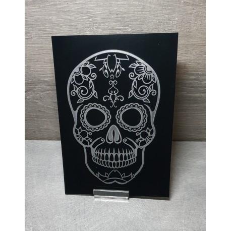tableau Tête de mort mexicaine