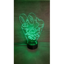 Veilleuse LED grenouille