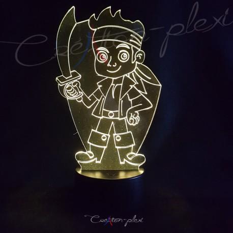 Veilleuse LED pirate