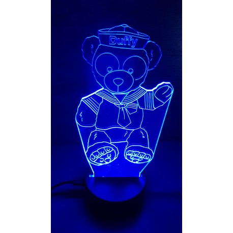 Veilleuse LED ourson Duffy