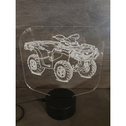Veilleuse LED moto cross