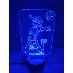 Veilleuse LED volleyeur