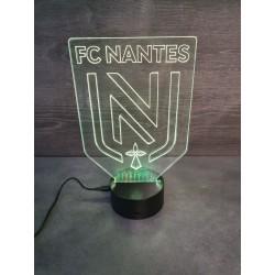 Veilleuse LED football FC Nantes