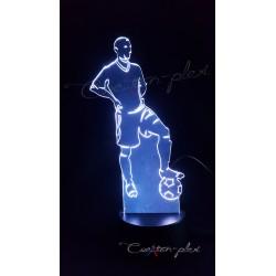 Veilleuse LED footballeur