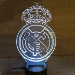Veilleuse LED football Real Madrid