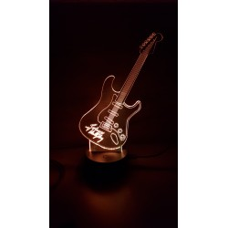 Veilleuse LED guitare Johnny