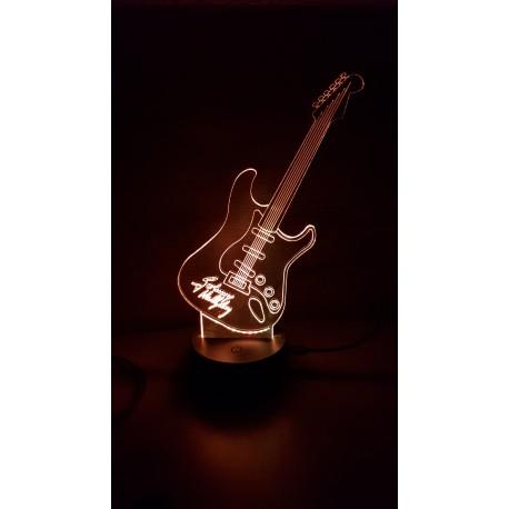 Veilleuse LED guitare Johnny