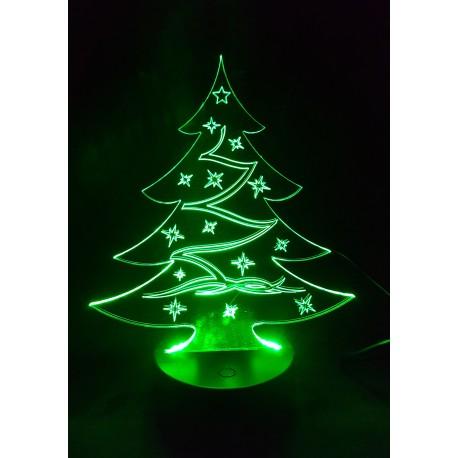 Veilleuse LED sapin