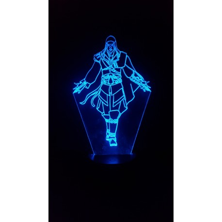 lampe 3D led assassin's creed