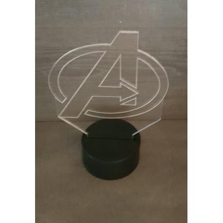 veilleuse Led Avengers