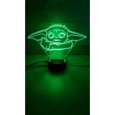veilleuse Led bébé Yoda