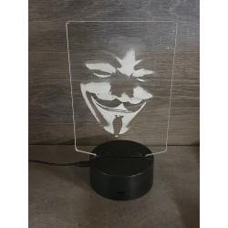 lampe 3D Led Casa de Papel