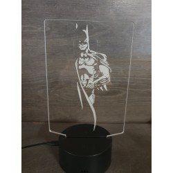 lampe 3D Led Batman