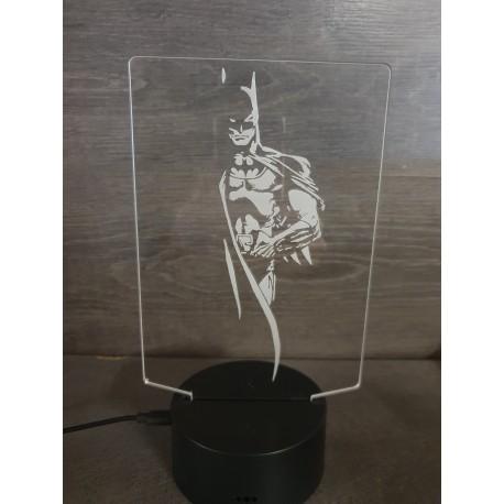 lampe 3D Led Batman