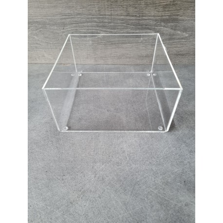 bac plexiglas carré