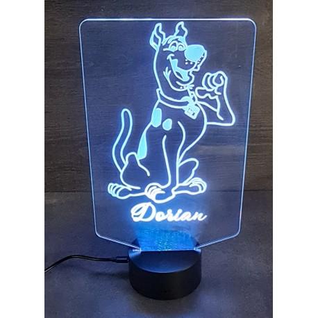 lampe 3D Scoobi doo