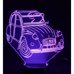 Veilleuse LED automobile 2cv