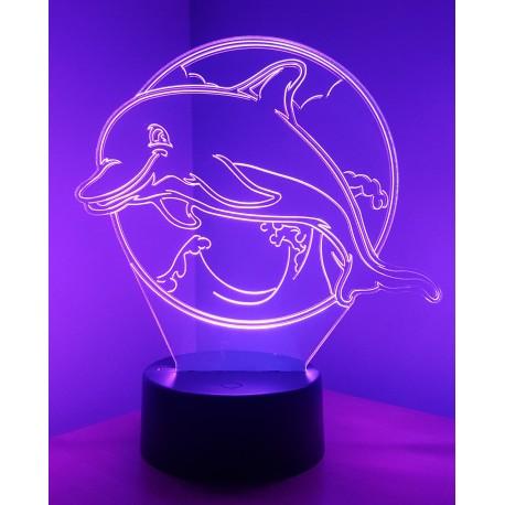 Veilleuse LED dauphin
