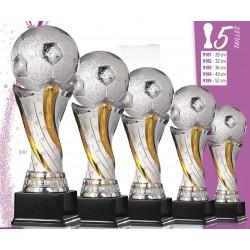 trophée foot ballon