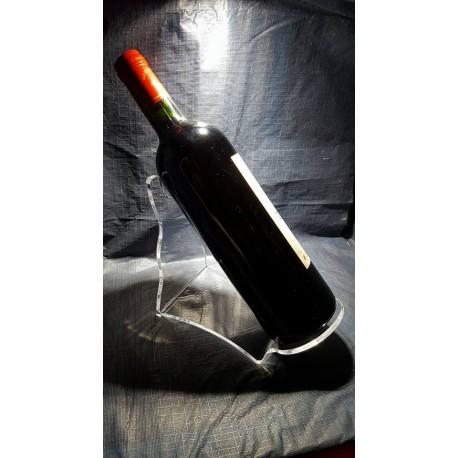 Porte bouteille incliné