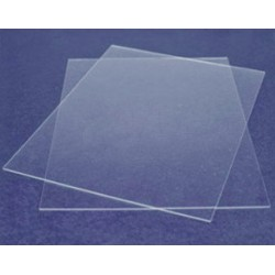 plaque carrée plexiglas pour ganache