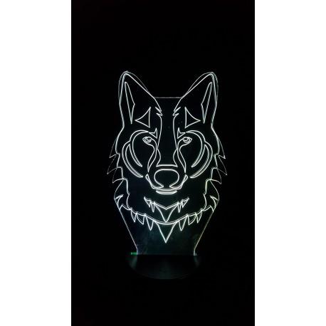 Veilleuse LED Loup