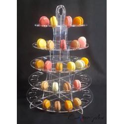 Pyramide à macarons