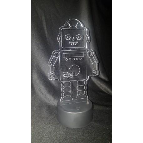 Veilleuse LED robot