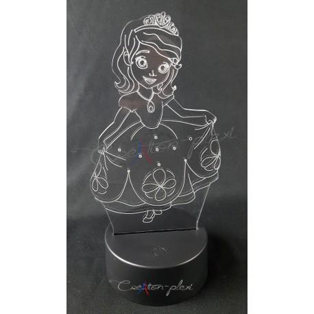 Veilleuses LED princesse
