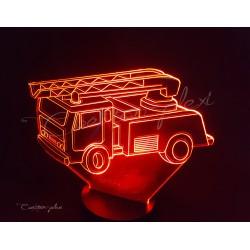 Veilleuse LED pompier