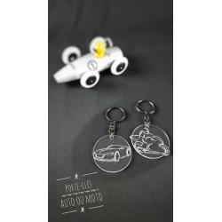 porte-clés auto