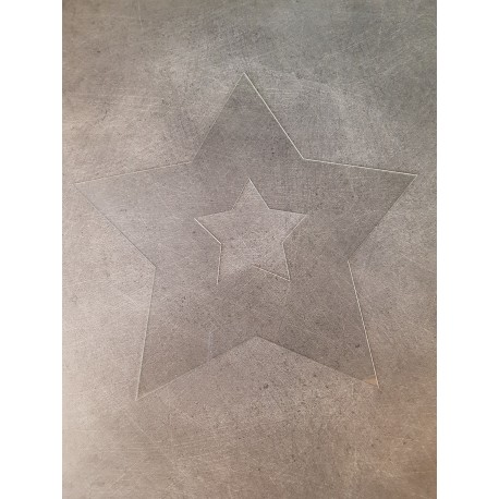 gabarit étoile A4