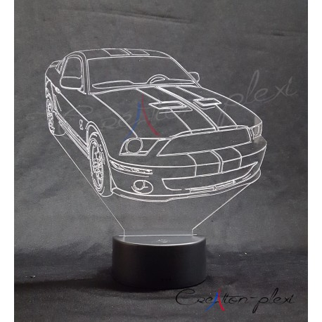 veilleuse automobile Mustang