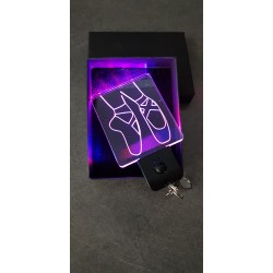 porte-clés LED lumineux