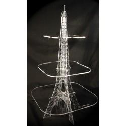 Porte-verrines tour Eiffel gravée