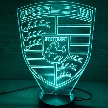 veilleuse logo Porsche