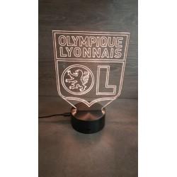 Veilleuse LED football Lyon