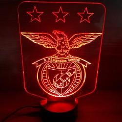Veilleuse LED football Benfica Lisbonne